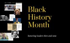 Header image black history month