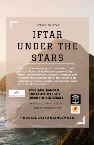 Iftar under the stars event information